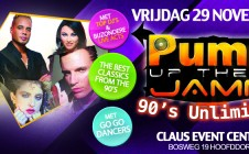 Pump Up The Jamm 90's Unlimited 29-11-2013