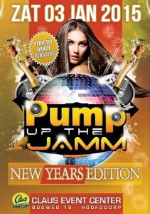 e-Flyer Pump Up The Jam - 3 januari