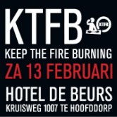Keep The Fire Burning Black & Red Valentine Edition
