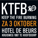 Keep The Fire Burning Black & White Edition