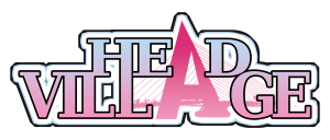 logo Head Village (roze)