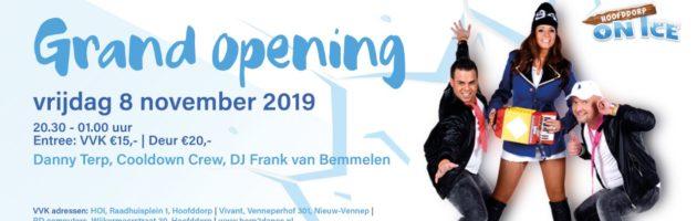 Born2Dance doet de opening van Hoofddorp On Ice