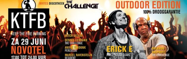 KTFB invites discotheek The Challenge Outdoor Edition