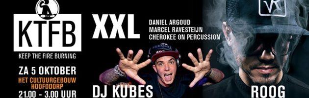 KTFB XXL Edition met 3 areas en DJ ROOG